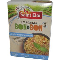 Saint Eloi Les Mélanges céréales méditerranéennes Bon & Bon les 4 sachets de 100 g