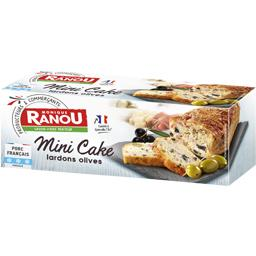 Monique Ranou Mini cake lardons olives le paquet de 245 g