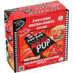 Movies Popcorn Pop'Box micro-ondes sucré