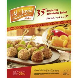 Boulettes orientales halal