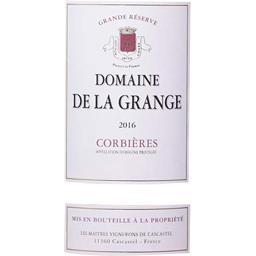 Domaine de la Grange, Corbières, vin rosé, 2016