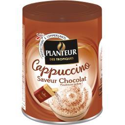 Cappuccino saveur chocolat