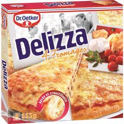 Dr. Oetker Dr. Oetker Pizza Delizza 4 fromages la boite de 555 g