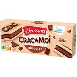 Brossard Brossard Gâteaux Crac & Moi chocolat les 5 gâteaux de 31 g