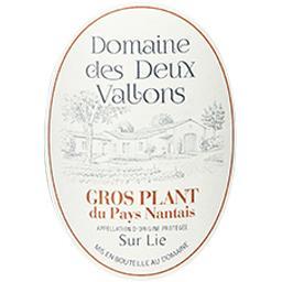 Gros-plant du pays nantais Domaine des Deux Vallons vin Blanc sec 2017