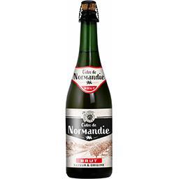 Cidre brut de Normandie, saveur & origine