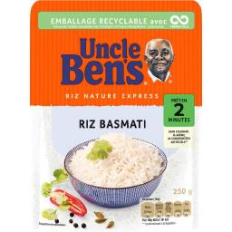Uncle Ben's Uncle Ben's Riz basmati le paquet de 250 g