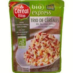 Bio Express - Trio de céréales précuites BIO