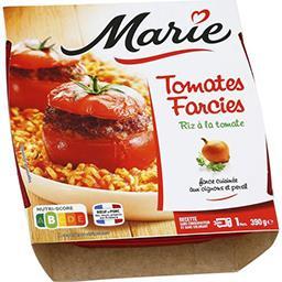 Tomates farcies, riz à la tomate