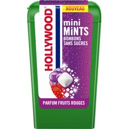 Hollywood Hollywood Bonbons Mini Mints sans sucres parfum fruits rouges la boite de 12,5 g