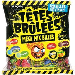 TÊTES BRÛLÉES Mega Mix Billes - Lot de 6