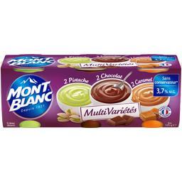 Multi Variétés - Crème desserts pistache, chocolat, ...
