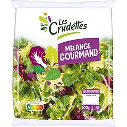 Les Crudettes Les Crudettes Salade Mélange Gourmand le sachet de 200 g environ