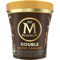 Magnum Magnum Crème glacée sauce caramel et éclats et enrobage de chocolat le pot de 310g