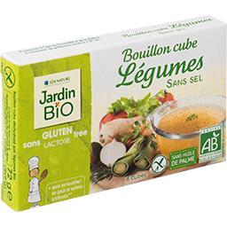 Bouillon cube légumes sans sel BIO sans gluten