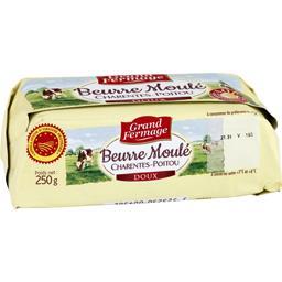 Beurre moulé doux Charentes Poitou AOP