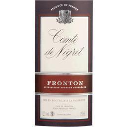 Fronton vin rosé - Comte de Négret