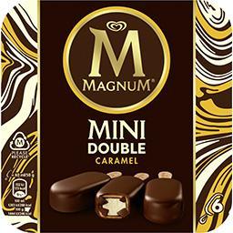 Magnum Magnum Mini glace double caramel la boite de 6 - 300 g