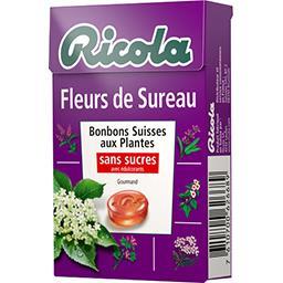 Bonbons fleurs de sureau sans sucres