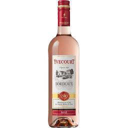 Cellier Yvecourt Yvecourt Bordeaux vin rosé la bouteille de 75 cl