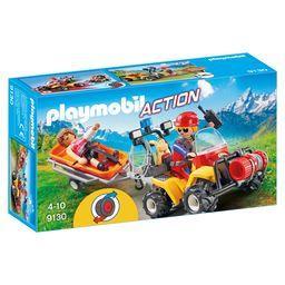 Action - Secouriste des montagnes avec quad 4-10
