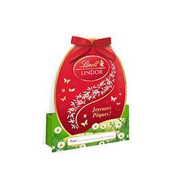 Lindt Lindor - Bonbons de chocolat au lait fourré d'un sup... le paquet de 37 g
