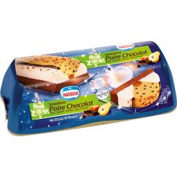 Bûche glacée Sensations poire chocolat