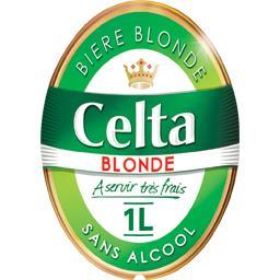 Bière blonde sans alcool