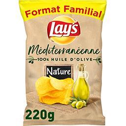 Chips recette méditerranéenne goût nature