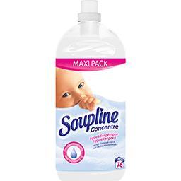Soupline Soupline Concentré - Adoucissant hypoallergénique au lait d'amande douce le flacon de 1,9 l - Maxi Pack