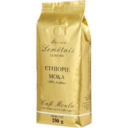 Café moulu moka