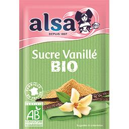 Sucre vanillé BIO au sucre de canne non raffiné