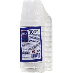 Tasses plastique blanches - 15cl