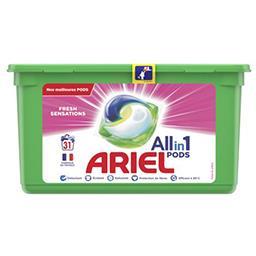Ariel Ariel Lessive en capsules allin1 pods fresh sensations La boîte de 31 lavages