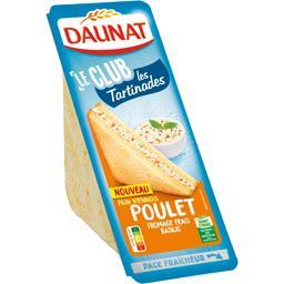 Le Club - Sandwich Les Tartinades poulet fromage basilic