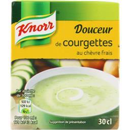 Knorr Knorr Soupe Douceur de Courgettes au chèvre frais la brique de 30 cl
