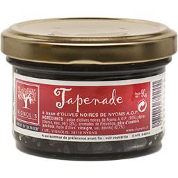 Tapenade noire a base d'olive noire de nyons