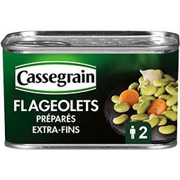 Cassegrain Cassegrain Flageolets préparés la boite de 265 g net égoutté