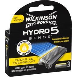Lames de rasoir Hydro5 Sense énergisant