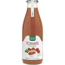 Soupe tomate basilic