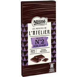 Les Recettes de L'Atelier - Chocolat noir corsé rece...