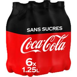 Soda au cola zéro sucres