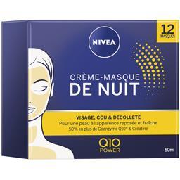 Nivea Nivea Crème-masque de nuit Q10 Power le pot de 50 ml