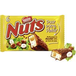 Nuts - Barres de chocolat au lait caramel et noisett...