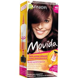 Movida, soin crème colorant ton sur ton auburn 40, s...