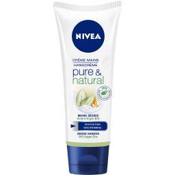 Crème mains Pure & Natural à l'huile d'argan bio