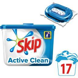 Active Clean - Capsules de lessive Double Action Ultimate