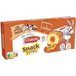 Gâteaux Snack Fruits' à l'abricot