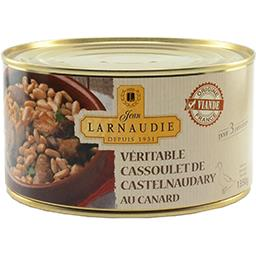 Jean Larnaudie Véritable cassoulet de Castelnaudary au canard la boite de 1,350 kg