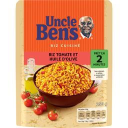 Uncle Ben's Riz cuisiné tomate et huile d'olive